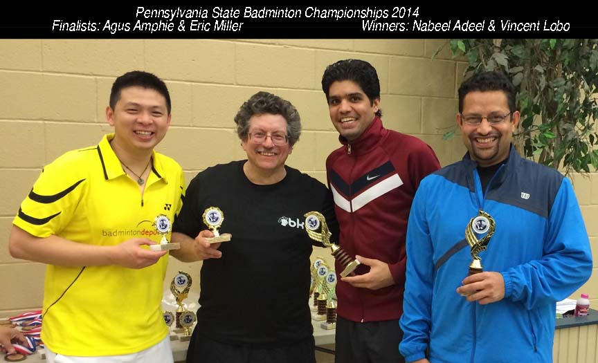 Open A Doubles 2014 Winners and Finalists